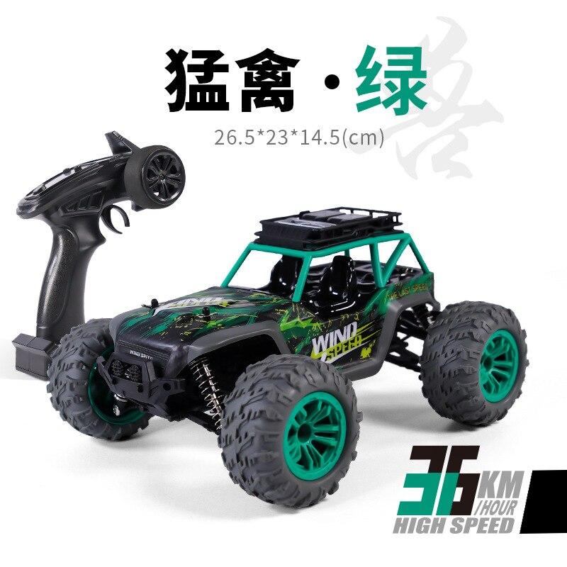 Nuevo coche RC 4WD 36 km/h Buggy de alta velocidad bigfoot, coche de escalada ESC impermeable RC Drift modelo profesional, coche de juguete de Control remoto