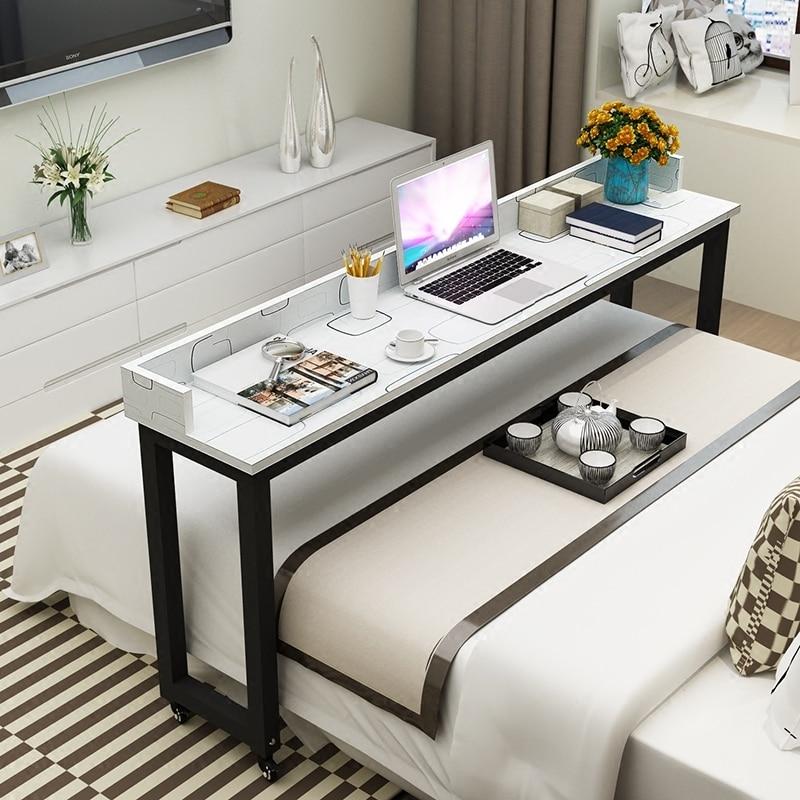 مكتب للحاسوب شخصي بسيط ، عبر حامل للهاتف المحمول للمكتب والفراش ، مكتب متعدد الوظائف والمنقول لشخصين طاولات القهوة
