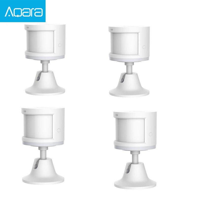 Original Aqara Body Sensor & Light Intensity Sensors ,ZigBee wifi Wireless Work for smart home APP