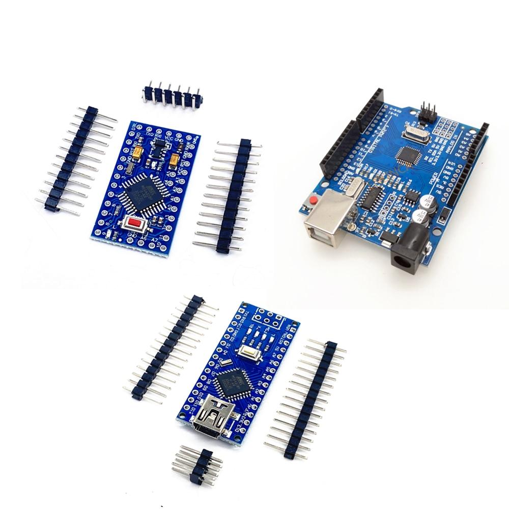 ATmega328P CH340 CH340G Controller For Arduino UNO R3 Compatible Nano V3.0 Development Board For Pro Mini 328 ATMEGA328P-AU