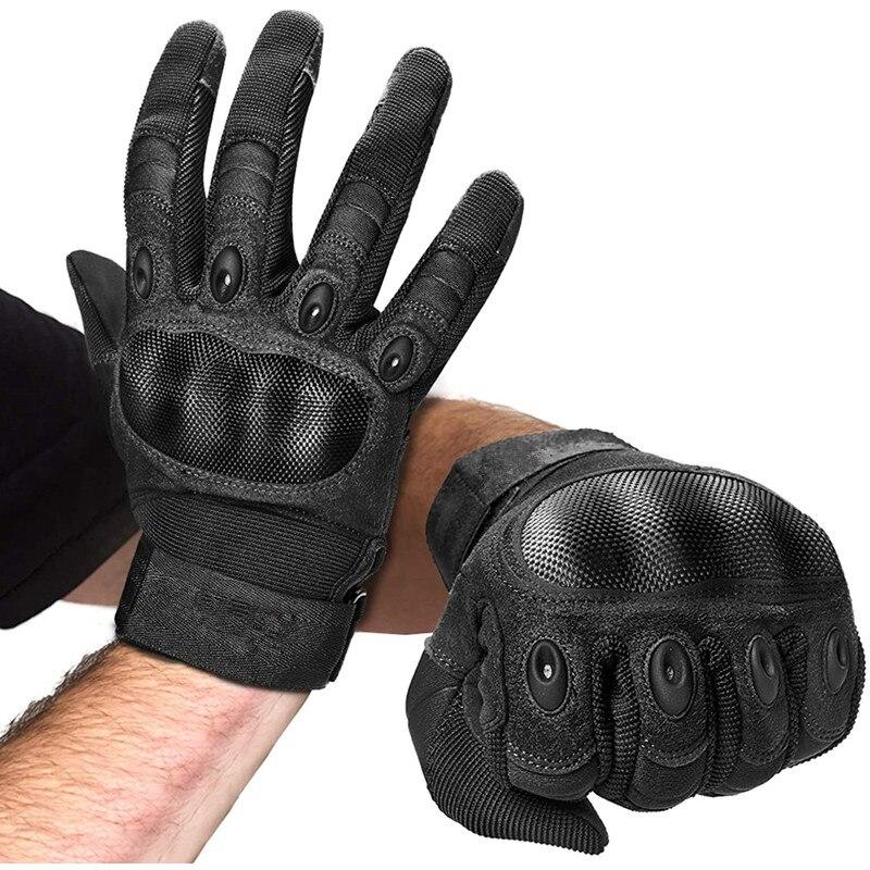 Gants tactiques dextérieur pour hommes, gants militaires, pour tir Airsoft, Paintball, moto, escalade, travail robuste