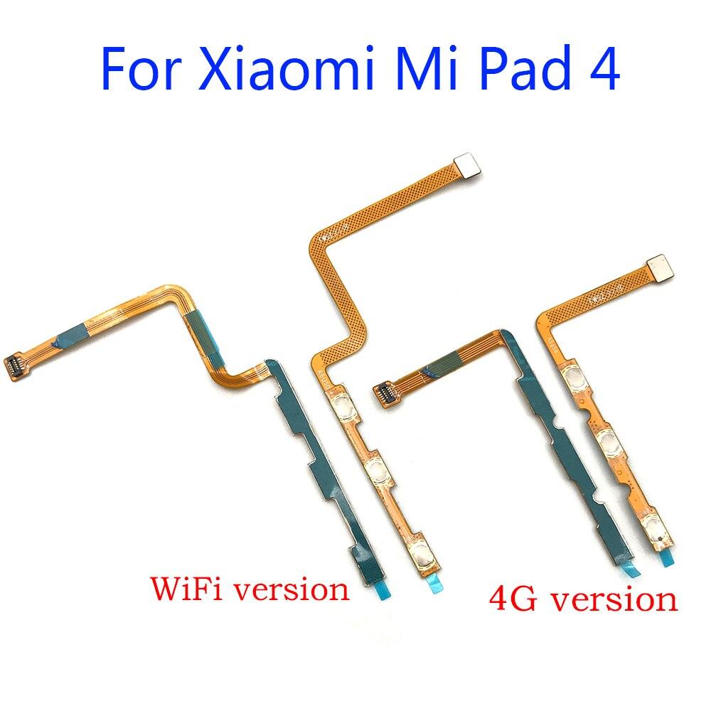Ligar/desligar volume chave botão cabo flex fita para xiaomi mi almofada 4 pad4