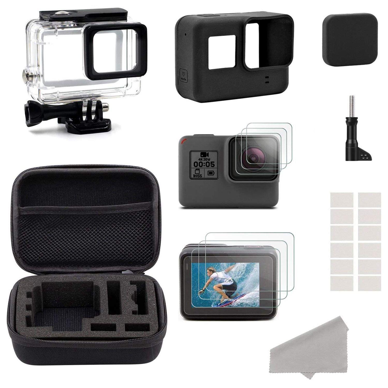 Аксессуары для экшн камеры GoPro Hero HD (2018)/6/5 Black Label стартовый набор дорожный Чехол