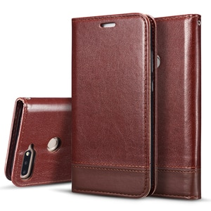 Classic Leather Phone Case For Huawei Honor 7C / Enjoy 8 / Nova 2 Lite Flip Wallet Card Slot Magnetic Cover Fundas Para Etui