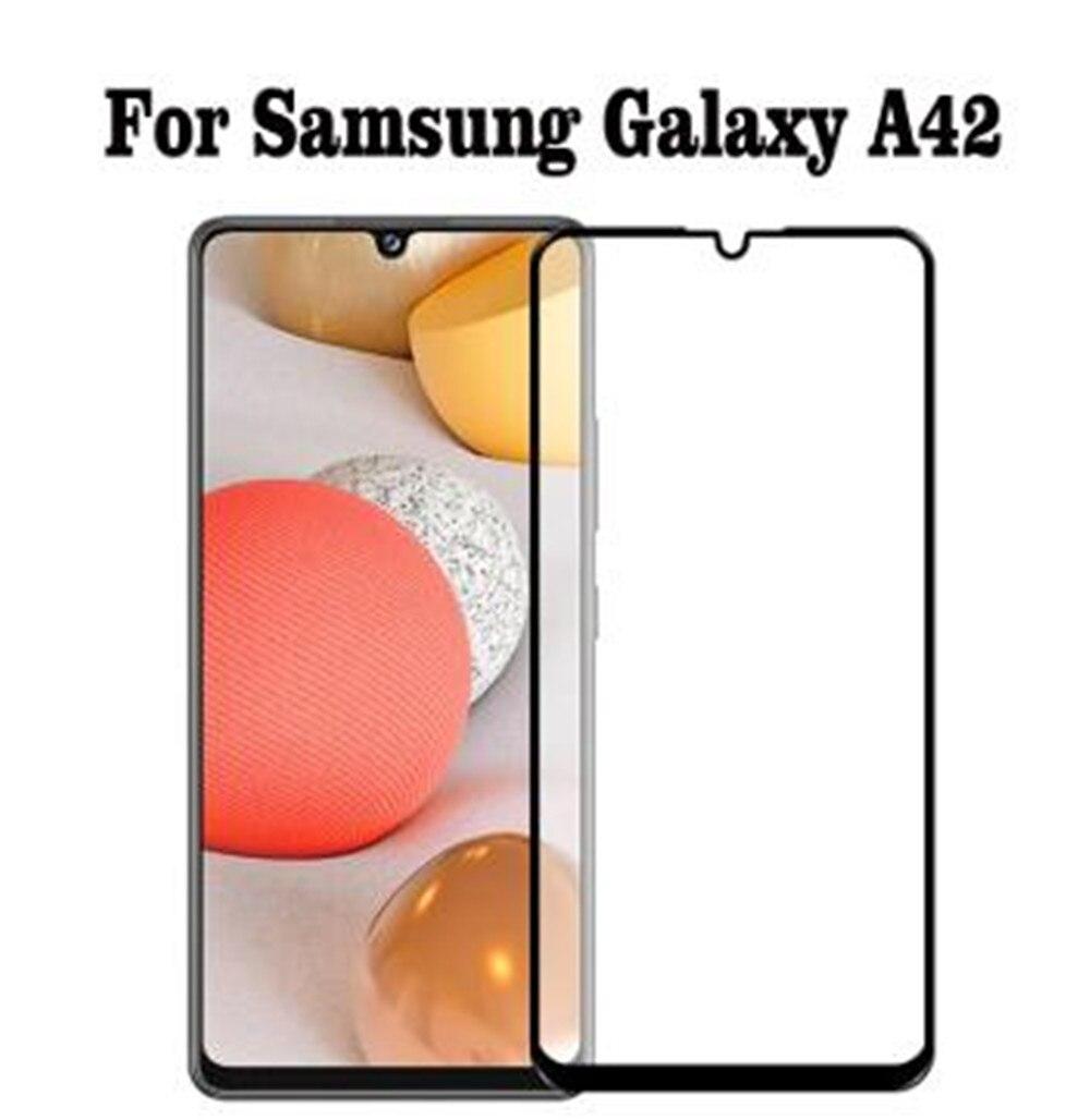 Protector de pantalla completo para móvil, película de Cristal Templado para Samsung...