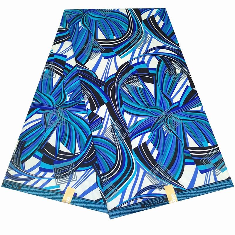 Анкара голландская, натуральная ткань с принтом воска дешево-ткань настоящий воск Высокое качество африканская ткань для платья Y614