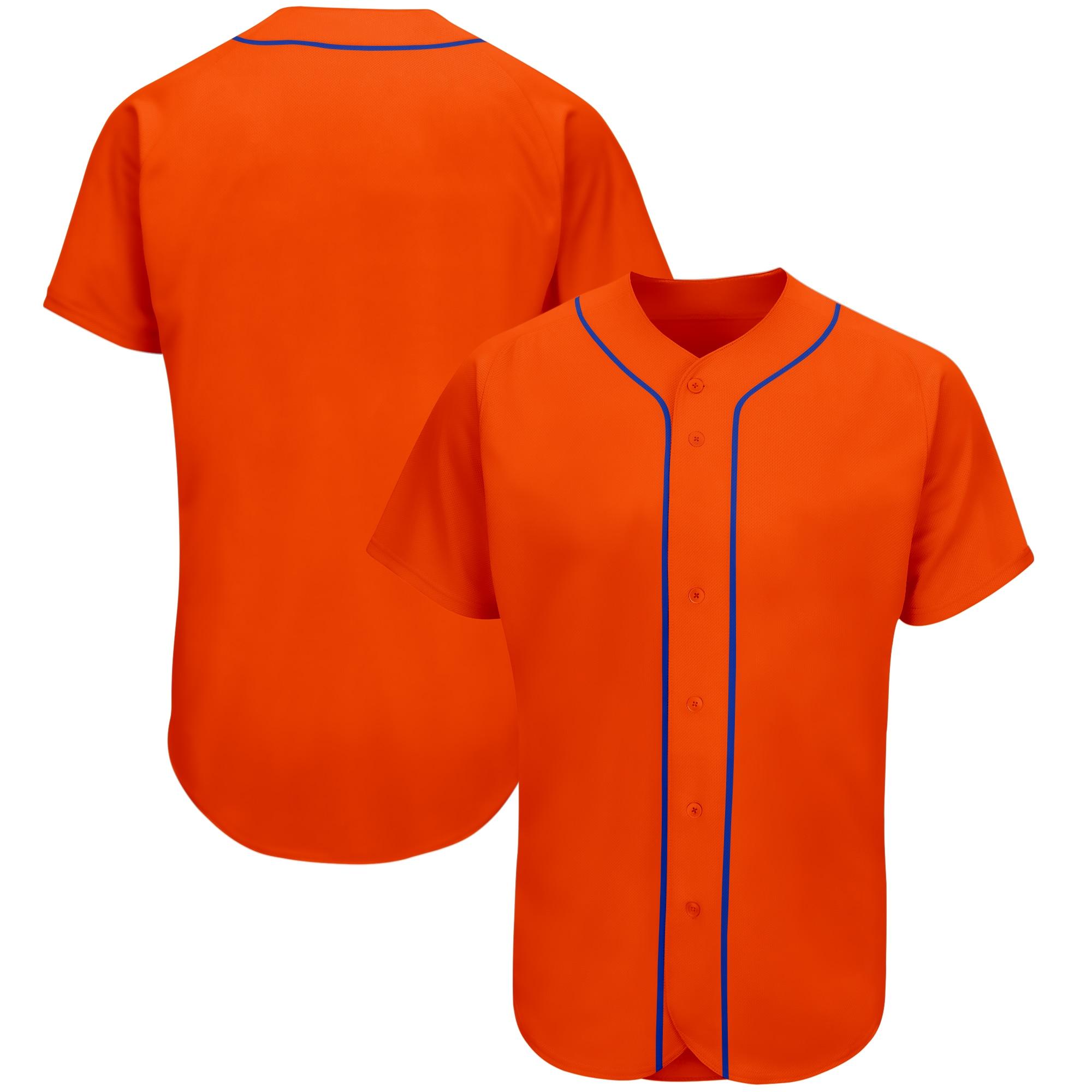 Мужская Бейсбольная Футболка под заказ, новая футболка с номером имени и вышивкой и номером, Высококачественная униформа для чарлидинга из ...