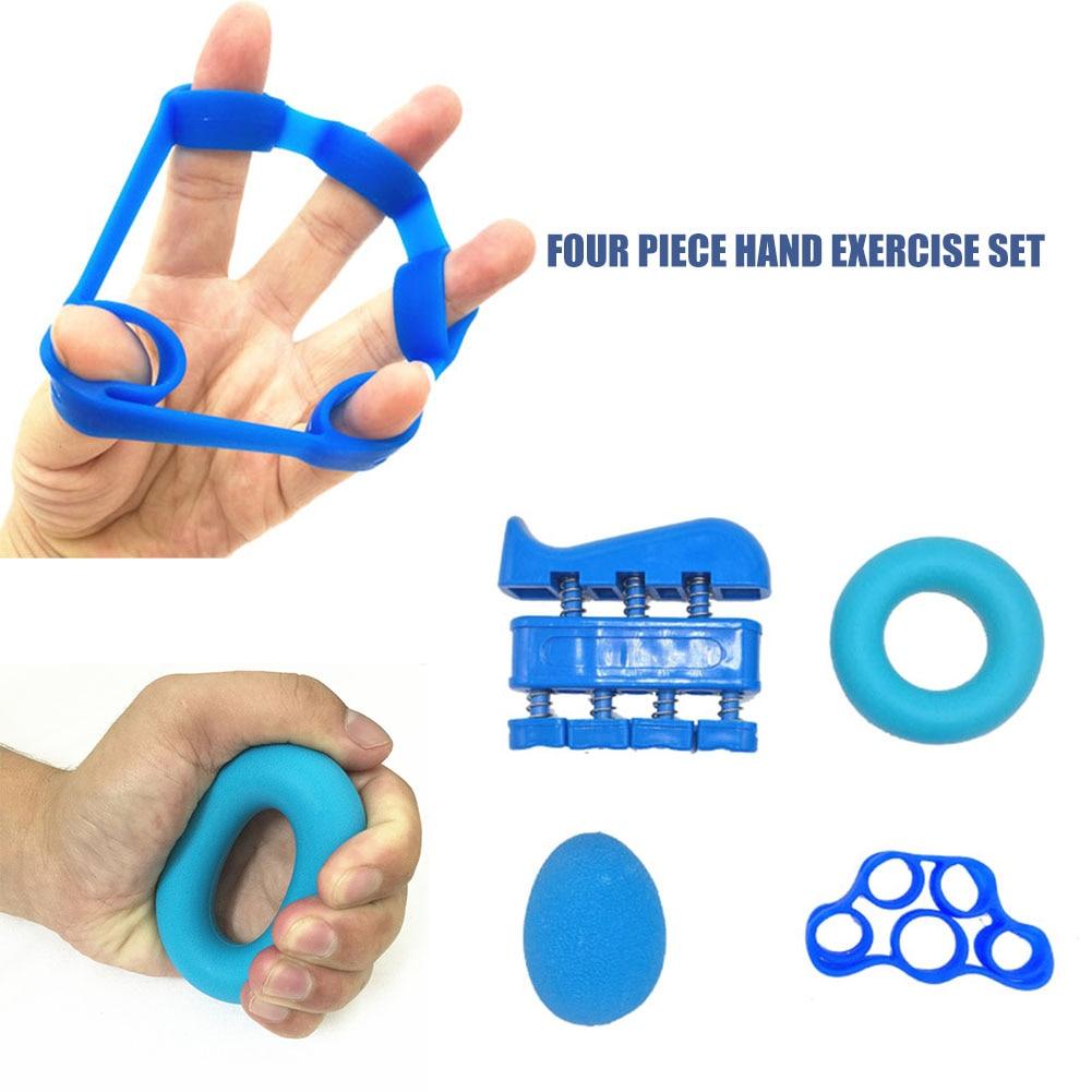 1 ensemble Silicone puissance main doigt poignée extenseur force formateur en forme de O anneau résistance bande entraînement exercice Fitness équipement