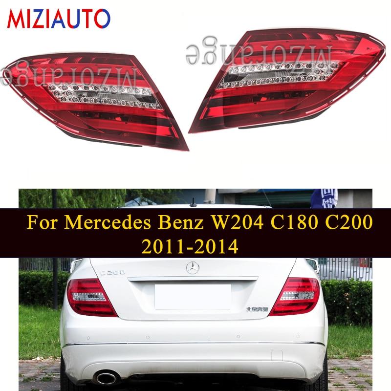 miziauto 1pcs inner rear tail light for honda for accord 2003 2004 2005 cm4 cm5 cm6 34156 sda h01 34151 sda h01 brake light MIZIAUTO Rear tail light For Mercedes Benz W204 C180 C200 C220 C260 C280 C300 2011-2014 Rear Bumper Light Tail Stop Brake Lamp