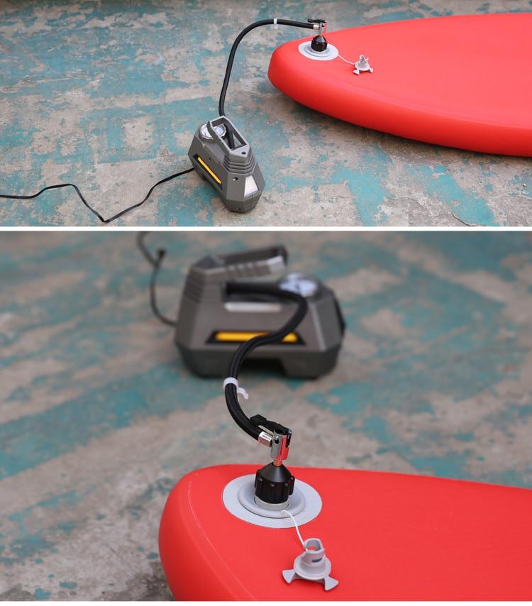 Varkë me varkë adaptori adaptor pompë kayak adaptorë valvul ajri - Sporte ujore - Foto 5