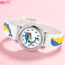 Newest Wristwatches Children Watches Baby Birthday Gift Girls Boys Student Quartz Wristwatch Lovely