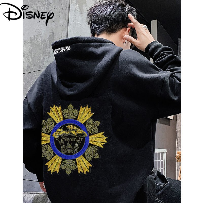 Disney Sequins Love Patch Stickers Mickey Cute Cartoon Pattern Hole Repair Simple Casual Clothes Bag Seamless Stickers