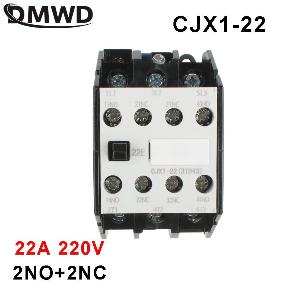 CJX1 3 ТБ CJX1-22/22 3tb43-220v контактор переменного тока, 220 В переменного тока 22A 50 Гц/60 Гц оригинал