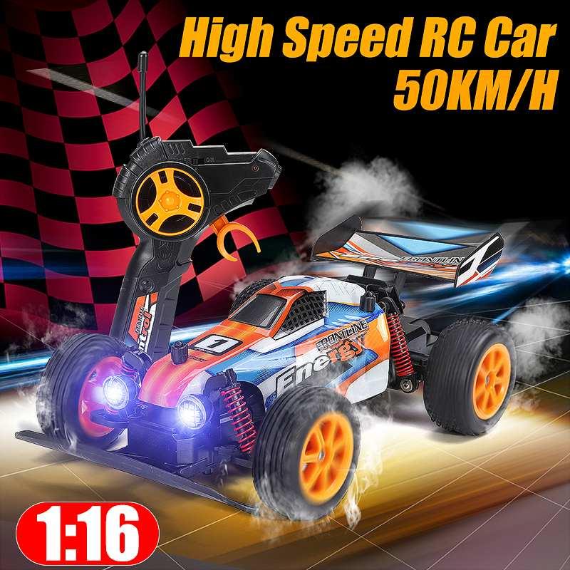 RC Car 4WD 38km/h High Speed 1/16 Car Radio Controled Machine 4CH Remote Control Car Toys For Children Kids RC Drift