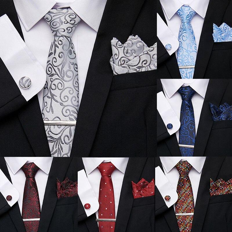 New men ties set Extra Long Size 145cm*7.5cm Necktie navy blue Paisley 100% Silk Jacquard Woven Neck Tie Suit Wedding Party tie недорого