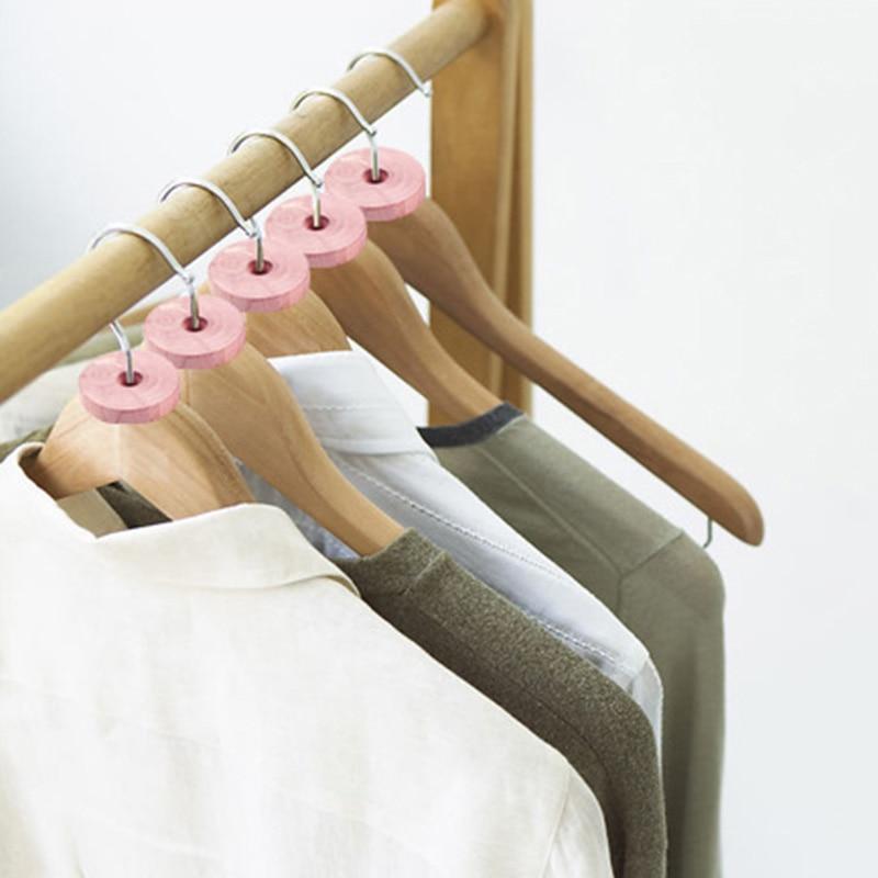 30 шт моль репеллент Cedars блоки деревянные вешалки кольца для хранения и защиты