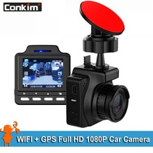 "Conkim Car DVR  Video Recorder 1080P Full HD WIFI GPS  96658 + IMX323 CMOS 1.5"" IPS Car Camera GPS Registrators"