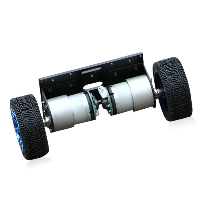 Self balancing intelligent car chassis auto balancing DIY Kit stepping version without encoder
