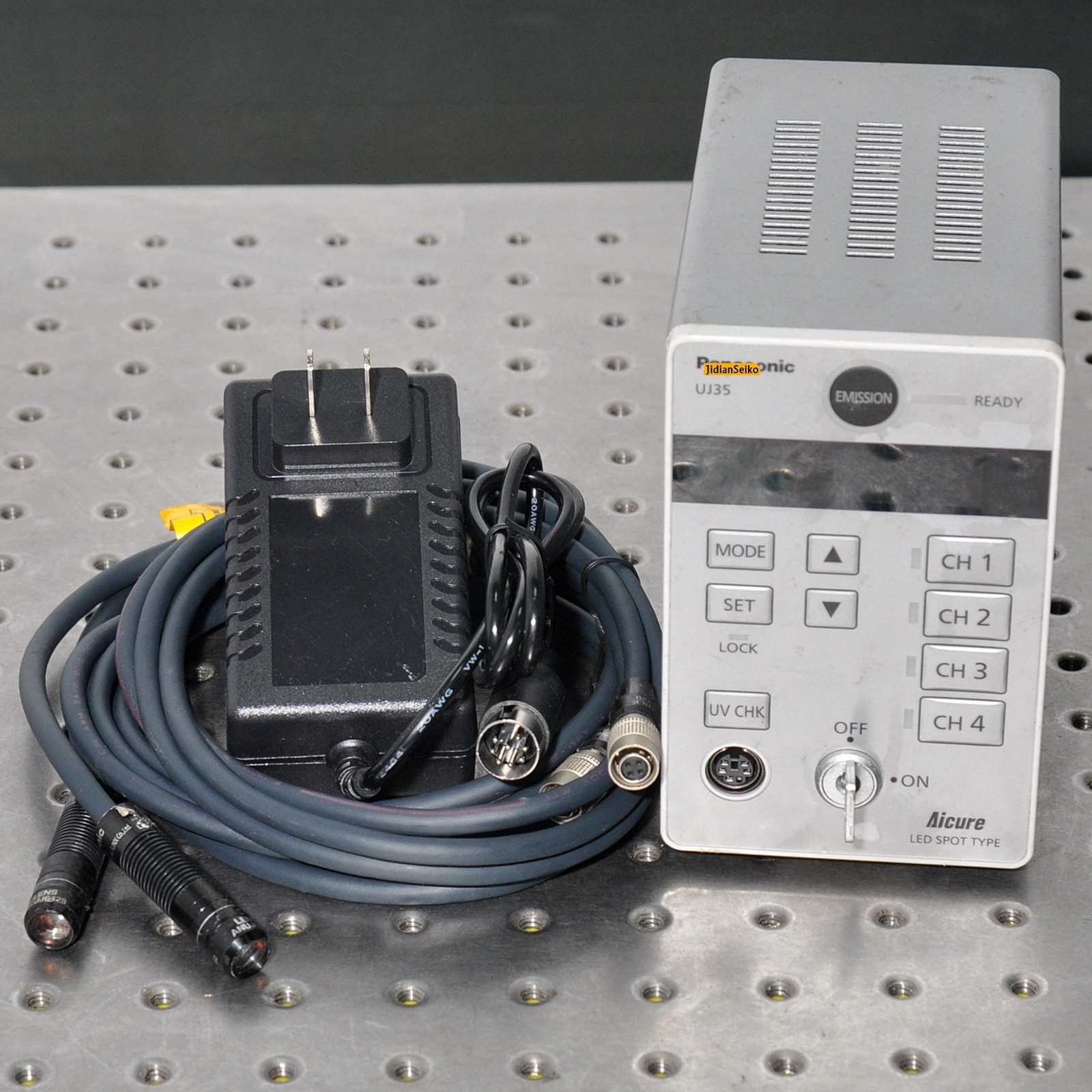 UJ35 UV LED curing machine LED point light source machine with 2 4 irradiation heads ANUJ6017