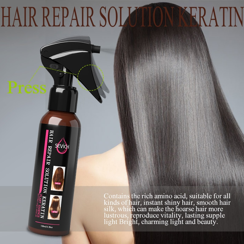 Sevich 100ml Hair Repair Spray Repairs damage restore soft hair for all hair types keratin Hair & Sc