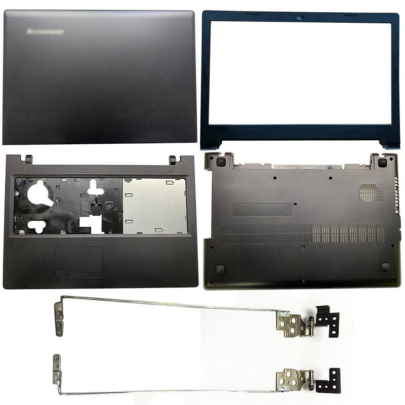 NEW Laptop LCD Back Cover/Front Bezel/Hinges/Palmrest/Bottom Case For Lenovo Ideapad Tianyi 100-15 100-15IBD 80QQ B50-50 80S2 100% new lenovo g570 g575 bottom case cover