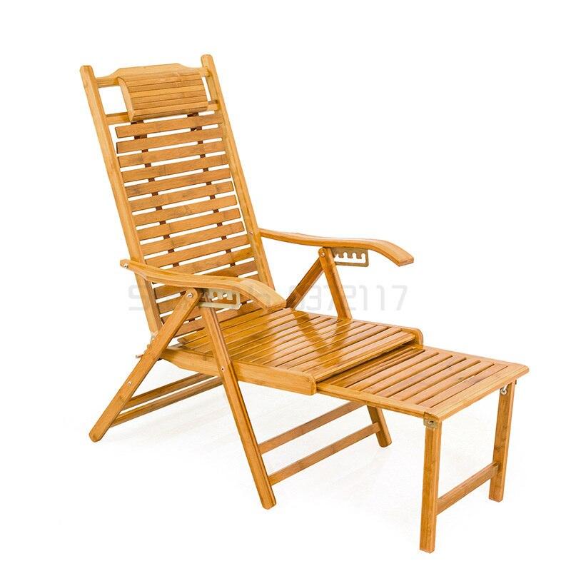 كرسي للطي شرفة الترفيه المنزلية كرسي مصنوع من الخيزران كرسي رائع قيلولة كسول رجل يبلغ من العمر كرسي بمسند ظهر كرسي متأرجح