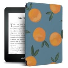 "For Funda Kindle Paperwhite 1/2/3 Case PU Leather TPU Silicone Smart Cover for Amazon Kinlde Paperwhite 3/2/1 6"" Capa Coque+Pen"