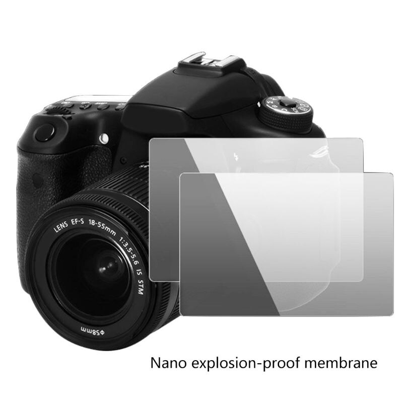 Cubierta protectora de vidrio templado para s-ony ZV1 película protectora para cámara Guard E65E