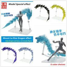Étoile âme Saint Seiya tissu mythe mont Lu Rise Dragon effet & socle pour Bandai balance EX or Dohko Bronze Shiryu SX021 *
