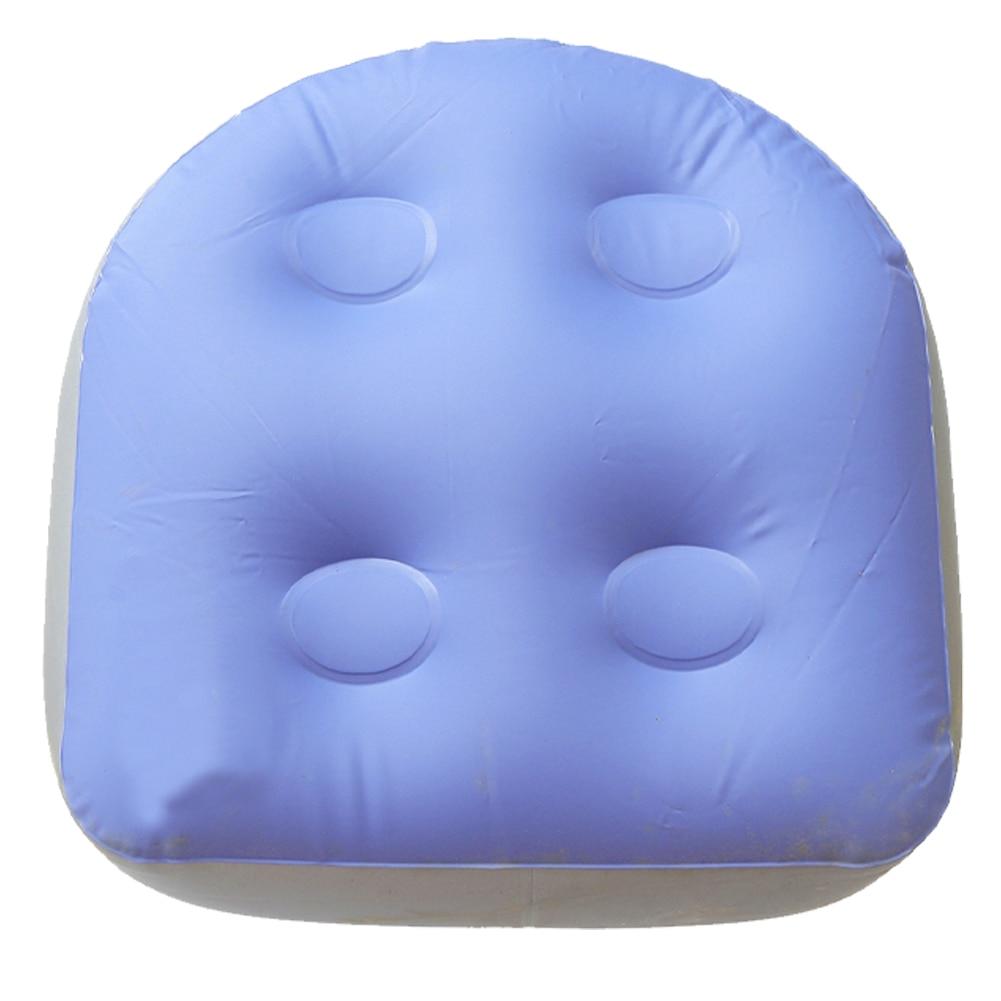 Cojín para bañera de hidromasaje, cojín inflable blando para bañera de hidromasaje, asiento elevador, diseño cómodo y atractivo L0716