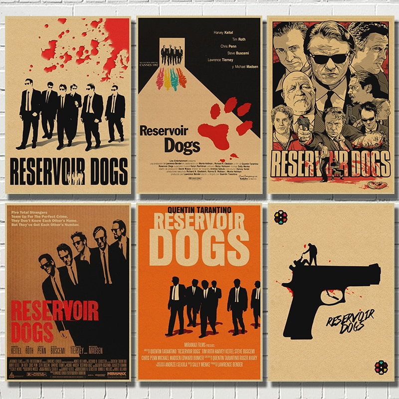reservoir-dog-classic-retro-movie-kraft-paper-poster-bar-cafe-dining-room-decorative-paintings-quentin-tarantino
