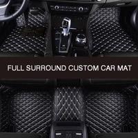 hlfntf full surround custom car floor mat for ford kuga 2013 2019 car parts car accessories automotive interior