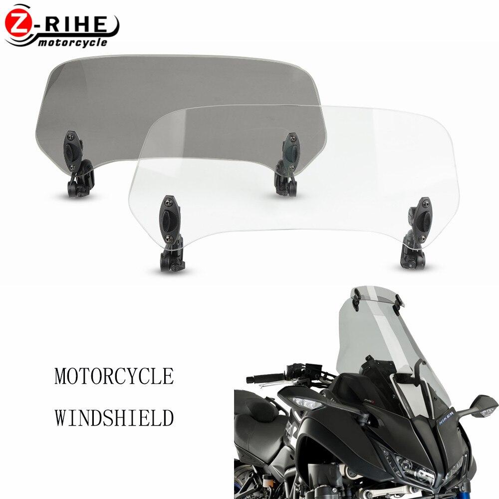 Accesorios para motocicleta, Deflector de aire para parabrisas ajustable para BMW K75S K75 S K1200S K1200 S