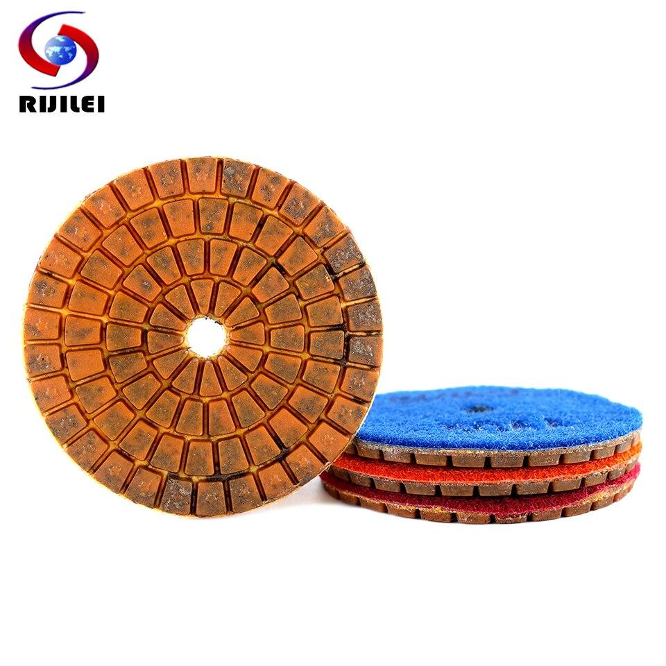 4 шт., Алмазные полировальные диски, 80 мм, 3 дюйма