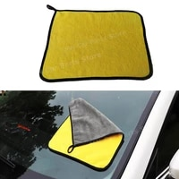 car wash cleaning towel coral fleece super absorbent microfiber home car clean cloth for toyota 30x3040cm