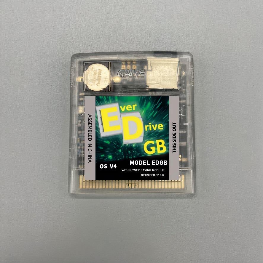 بطاقة خرطوشة مخصصة لـ EverDrive OS V4 EDGB ، 2750 لعبة في واحد ، لـ gameboy-DMG GB GBC GBA ، وحدة تحكم الألعاب ، إصدار توفير الطاقة