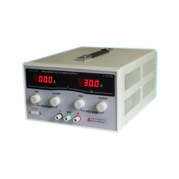 مزود طاقة تيار مستمر رقمي قابل للتعديل KPS1560D ، 15 فولت ، 60 أمبير ، مفتاح طاقة عالي ، مصدر طاقة تيار مستمر 110/220 فولت 0.1 فولت 0.1A