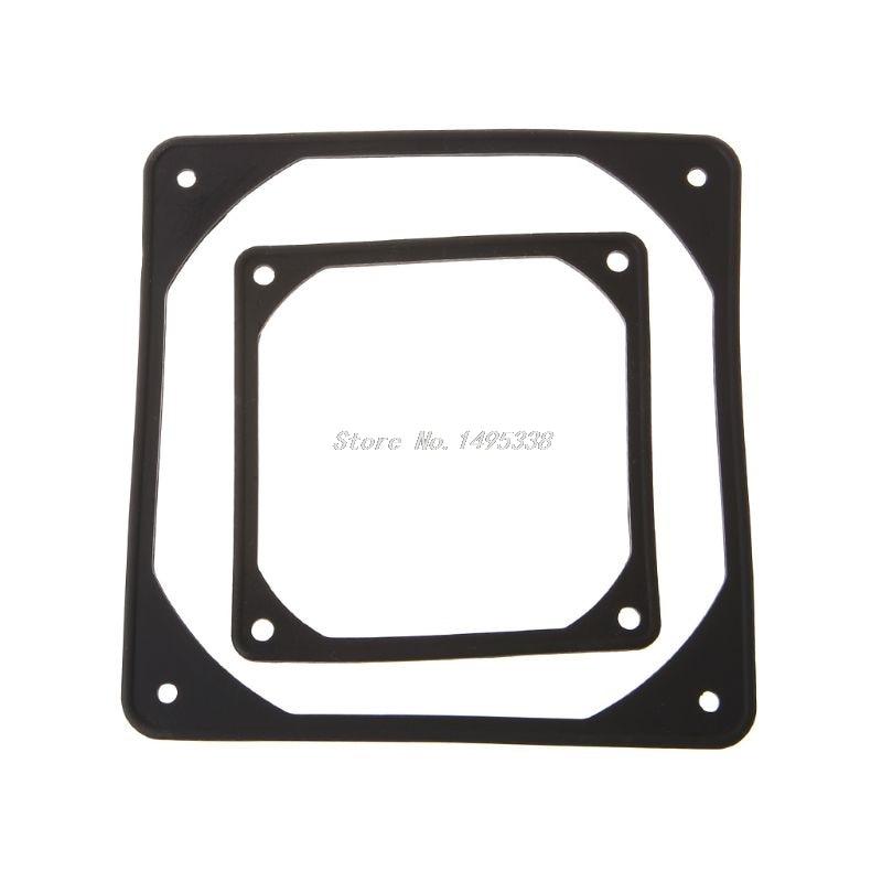 2 uds almohadilla de absorción de choque de silicona CPU ventilador de refrigeración PC caso Anti Vibración Junta agua fresca Dropship