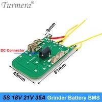 board 5s 18v 21v 35a bms lithium battery board for 18v wireless grinder 21v screwdriver shurik and vacuum cleaner battery pack