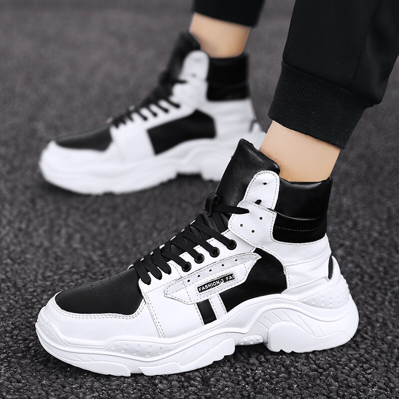 أسود على رجل zapatos علوي للأحذية إنفورماليس ساباتوس جلد غير رسمي حار hombre رجل رجل الربيع حذاء رياضة الفقرة الترفيه s السببية