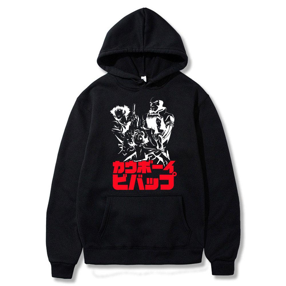 Худи мужское в японском стиле Харадзюку, Свитшот в стиле хип-хоп, худи в ковбойском стиле Bebop, повседневное Подарочное худи, весна-осень