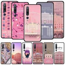 Grand Budapest Hotel Case for Xiaomi Mi Note 10 9 9T Pro 5G CC9 CC9E 8 A3 A2 Lite Poco X2 F1 Black Soft Phone Cover Bags
