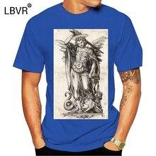 Medieval t-shirt gothic Goth zombie battle occult vintage retro Grim Reaper Short Sleeve Plus Size t-shirt