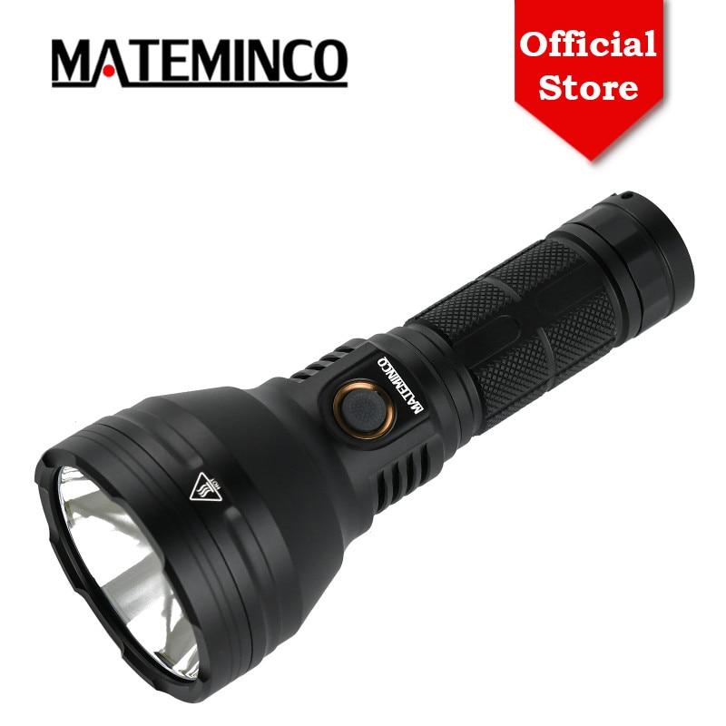 MATEMINCO-مصباح يدوي صغير LED قابل لإعادة الشحن MT35 ، مصباح دفاع عن النفس بعيد المدى ، 2400LM ، USB Type C ، 875m