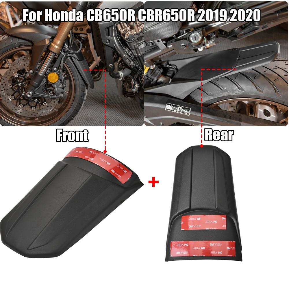 Para Honda CB650R CBR650R 2019 2020 guardabarros delantero trasero extensor carenado rueda Hugger extensión Protector Accesorios