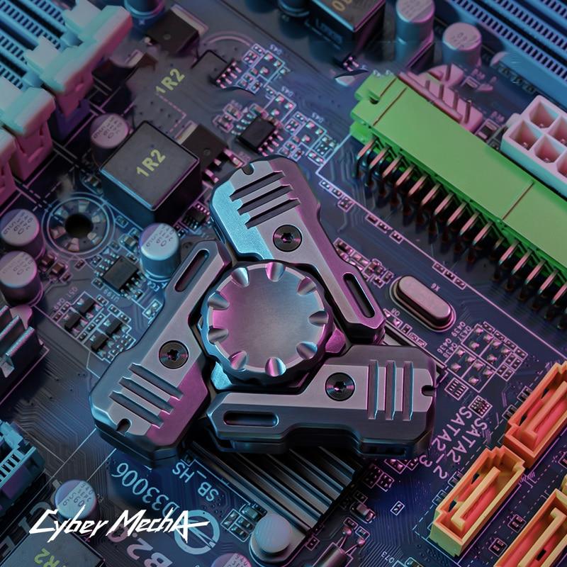 AMMO Design Cyberpunk Sonic Mecha Fingertip Gyro EDC Adult Decompression Toy Fidget Spinner