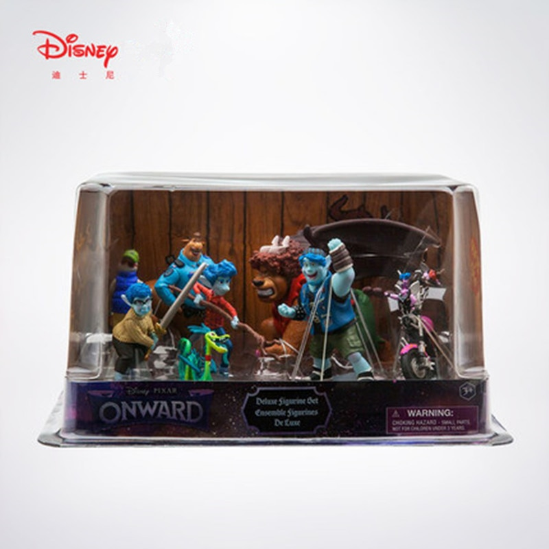 8 unids/set Original de Disney a partir de cebada Ian Laurel Lightfoot oficial Colt Bronco figura de acción de juguete de modelos coleccionables W211