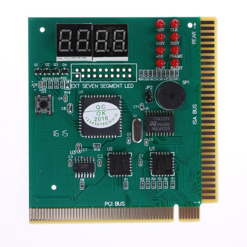 Nouveau testeur de poste de carte mère de Diagnostic danalyseur de PC daffichage à cristaux liquides de 4 chiffres pour la carte mère de carte vidéo de mémoire dunité centrale