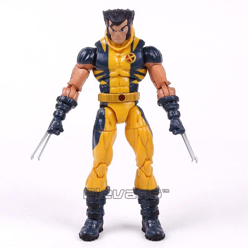 Original lendas genuínas x men logan pvc action figure collectible modelo brinquedo 15cm