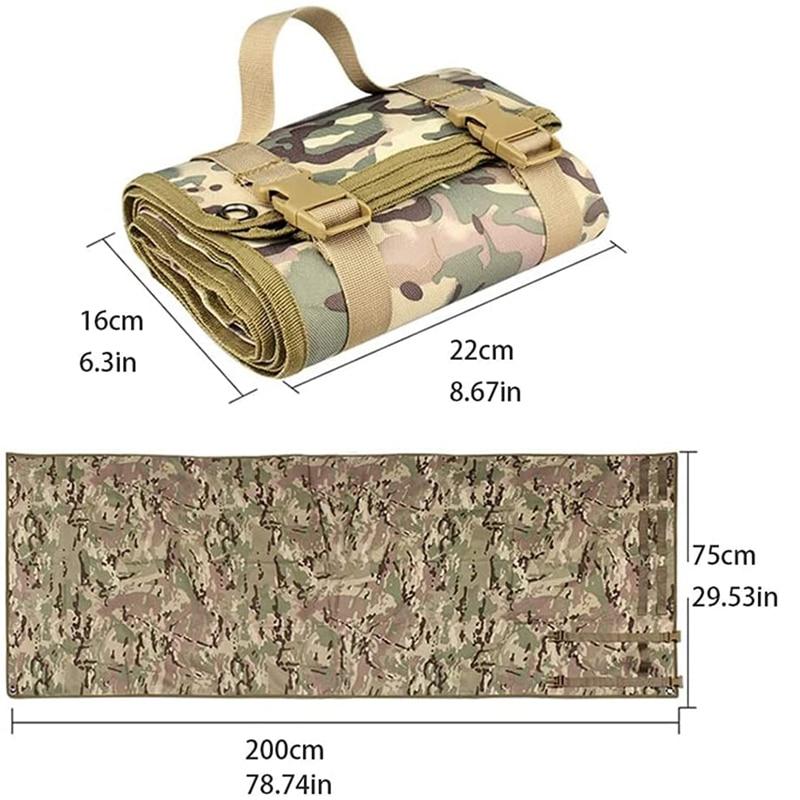 Подкладка для стрелков, нескользящий водонепроницаемый коврик для кемпинга и охоты